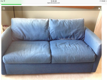 Crate and Barrel sofa/full size bed in Glendale Heights, Illinois