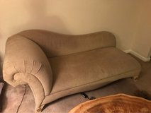 Chaise Lounge Settee Couch in Fort Rucker, Alabama