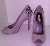 Vera Wang studded spiked high heels in Fort Knox, Kentucky