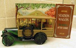 Avon Vintage 1973 Tai Winds After Shave Lotion in 1923 Station Wagon Decanter in Palatine, Illinois
