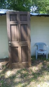 Antique Door in Fort Rucker, Alabama