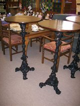 Victorian Oak Poser Tables. in Lakenheath, UK