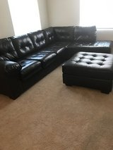 Sectional sofa and ottoman in Fort Bragg, North Carolina