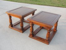 "VINTAGE ""PINE""END TABLE SET OF 2 FROM THE 1970'S EXCELLENT CONDITION in Camp Lejeune, North Carolina"