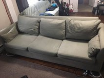Couch with Two Washable Covers in Indianapolis, Indiana