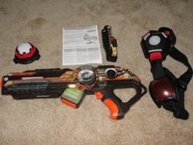 WOWWEE LIGHT STRIKE ASSUALT STRIKER XR MO23 SERIES LASER TAG GUN PISTOL & ACCESSORIES in Camp Lejeune, North Carolina
