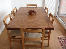 Dining Room Table Made From Carolina Pine! in Ramstein, Germany