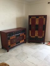 Pier 1 Imports Alston Cabinet and Armoire SOLD TOGETHER in Schofield Barracks, Hawaii