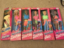 Barbies with accessories some new! in Elgin, Illinois