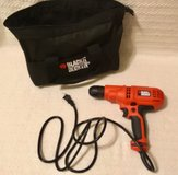 Black and Decker 5.2 amp corded drill/driver in Watertown, New York
