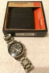Brooks Brothers Dress Watch and Leather Dockers Wallet in Watertown, New York