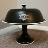 Black & White Decorative Cake Stand * LIKE NEW in Fort Benning, Georgia