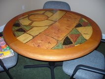 "48"" contemporary dining/game table - like new in Aiken, South Carolina"