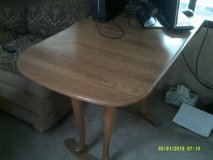 Dining Room set:  Oak drop leaf dining table REDUCED !!!!!!!!!!!!!!!!!! in Alamogordo, New Mexico