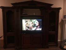 Entertainment center with storage in Kingwood, Texas