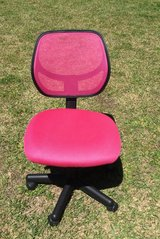 Pink Office Chair in Camp Lejeune, North Carolina