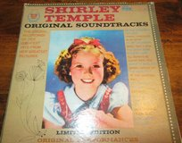 Shirley Temple Original Soundtracks LP Record in Ramstein, Germany