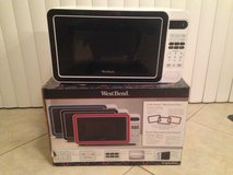 "West Bend 700 Watt ""Color Switch"" Microwave Oven in Naperville, Illinois"