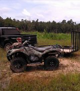 2015 Kawasaki Brute Force® 750 4x4i EPS Camo Edition in The Woodlands, Texas