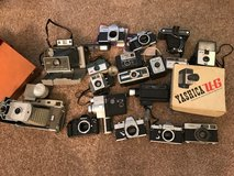 Lot of Vintage Cameras in Beaufort, South Carolina