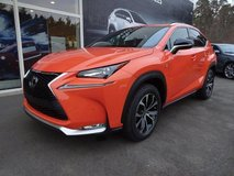 Lexus NX 200T. Orange is the new Black! in Ramstein, Germany