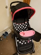 Minnie Mouse Car seat and matching Stroller in Elgin, Illinois