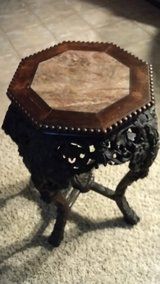 Beautiful Small Antique Table/Intricate Carving in Sacramento, California