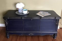 Beautiful Rustic Glam Cedar Chest made by Lane in Perry, Georgia