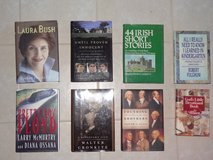 instant library - over 60 hard cover books in excellent condition - a little of this and that in Conroe, Texas