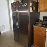 Almost new Samsung refridgerator with Ice and water in Lackland AFB, Texas