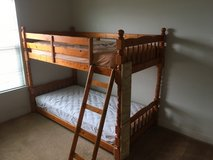 Bunk bed (All wood) in Camp Pendleton, California