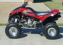 2009 KFX 700 Red Marble Edition in Alexandria, Louisiana