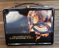 The Hunger Games Movie Tin Lunchbox with Thermos CATCHING FIRE in Fort Benning, Georgia