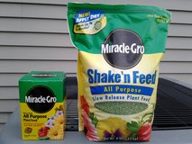 Miracle-Gro All Purpose Plant Food & Shake 'n Feed Slow Release Plant Food in Sugar Grove, Illinois
