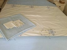 Queen Size Embroidered Bedding Set in Ramstein, Germany