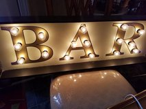 New / Light Up Bar Sign Hanging Wall Lamp in Fort Campbell, Kentucky