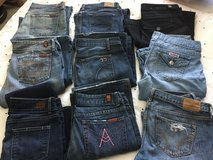 9 pairs women's jeans in San Diego, California