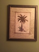 Framed art Palm tree in Plainfield, Illinois