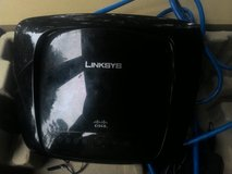 Linksys cisco wifi router in DeRidder, Louisiana