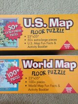 US & World Map Puzzles in Yucca Valley, California