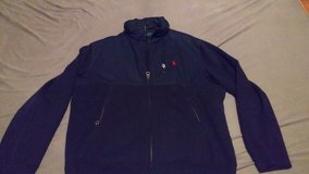 Polo Jacket Navy Blue/Red XL in Ramstein, Germany