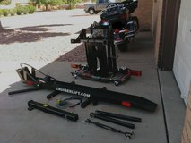 Motorcycle lift in Fort Bliss, Texas