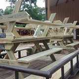 Picnic Tables and Deck Benches in Coldspring, Texas