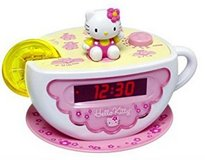 **REDUCED** Like NEW! Hello Kitty Teacup Alarm Clock in Clarksville, Tennessee