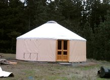 Beautiful Used Yurt For Sale in Sacramento, California