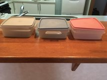 Tupperware containers in Okinawa, Japan