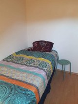 Twin bed, box spring, frame in Ramstein, Germany