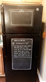 GE Fridge Black! Excellent condition. Must sell ASAP in Barstow, California