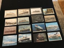 Vintage Maritime Postcards in Westmont, Illinois