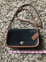 Leather Coach Purse in Yorkville, Illinois